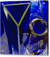 Cobalt Therapy Acrylic Print
