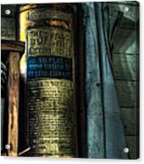 Cobblers Fire Extinguisher Acrylic Print