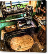 Cobblers Sewing Machine Acrylic Print