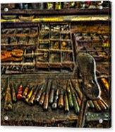 Cobblers Tools Acrylic Print