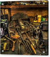 Cobblers Workbench Acrylic Print