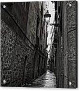 Cobblestones Of Barca Acrylic Print