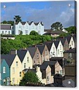 Cobh Town Houses Acrylic Print