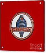 Cobra Emblem Acrylic Print