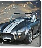Cobra In The Clouds Acrylic Print