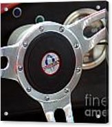 Cobra Steering Wheel Acrylic Print