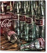 Coca Cola - Hecho En Mexico Acrylic Print