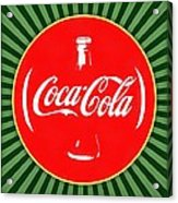 Coca Cola Pop Art  Acrylic Print