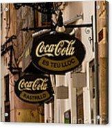 Coca-cola Acrylic Print