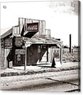 Coca-cola Shack   Alabama Walker Evans Photo Farm Security Administration December 1935-2014 Acrylic Print