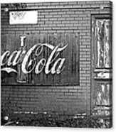 Coca-cola Sign Acrylic Print