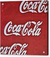 Cocacola Acrylic Print