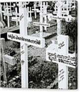 Cochin Cemetery  Acrylic Print