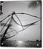 Dusk Over Cochin Acrylic Print