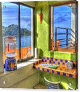 Cocina Con Vista Acrylic Print