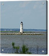 Cockspur Island Light Acrylic Print