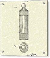 Cocktail Shaker 1935 Patent Art Acrylic Print