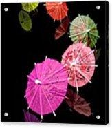 Cocktail Umbrellas Xii Acrylic Print
