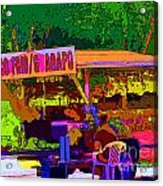 Coco Frio Acrylic Print