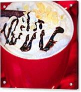 Cocoa Java Coconut Bliss Acrylic Print
