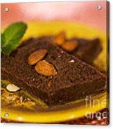 Coconut Almond Squares Acrylic Print