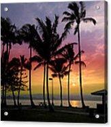 Coconut Island Sunset - Hawaii Acrylic Print