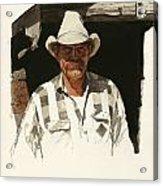 Cody Cowboy 2 Acrylic Print