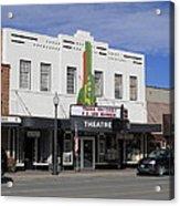 Cody Wyoming Theater Acrylic Print