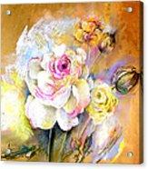 Coeur De Rose Acrylic Print