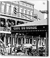 Coffee And Beignets Acrylic Print