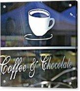 Coffee And Chocolate Acrylic Print
