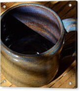 Coffee Connoisseur No.3 Acrylic Print by Christine Belt