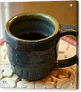 Coffee Connoisseur No.5 Acrylic Print by Christine Belt