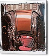 Coffee Corner Acrylic Print