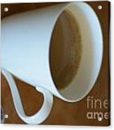 Coffee Cup 01 Acrylic Print by Bobby Mandal