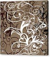 Coffee Flowers 1 Acrylic Print