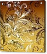 Coffee Flowers 4 Calypso Acrylic Print