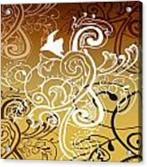 Coffee Flowers 5 Calypso Acrylic Print