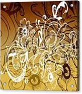 Coffee Flowers 7 Calypso Acrylic Print