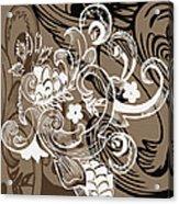 Coffee Flowers 8  Acrylic Print