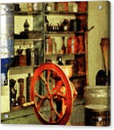 Coffee Grinder And Canister Of Sugar Acrylic Print