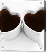 Coffee Lovers Acrylic Print by Dan Holm
