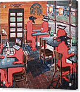 Coffee Shop Culture Acrylic Print