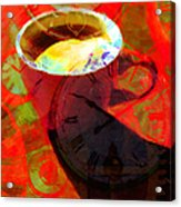 Coffee Time My Time 5d24472m12 Acrylic Print