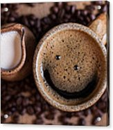 Coffee With A Smile Acrylic Print