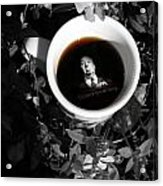Coffee With Alfred Acrylic Print