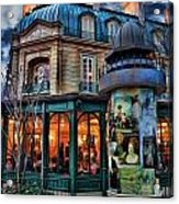 Coffeehouse - Belle Soiree Au Cafe II Acrylic Print
