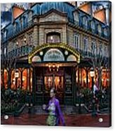 Coffeehouse - The Sidewalk Cafe II Acrylic Print
