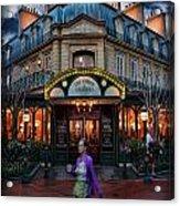 Coffeehouse - The Sidewalk Cafe Acrylic Print