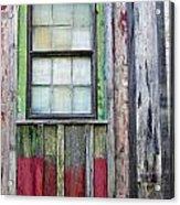 Coforful Old House Acrylic Print